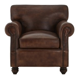Small Leather Armchairs | Wayfair.co.uk