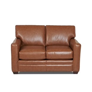 Extra Small Leather Loveseat | Wayfair
