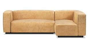 Small Leather Sectional Sofa | Wayfair