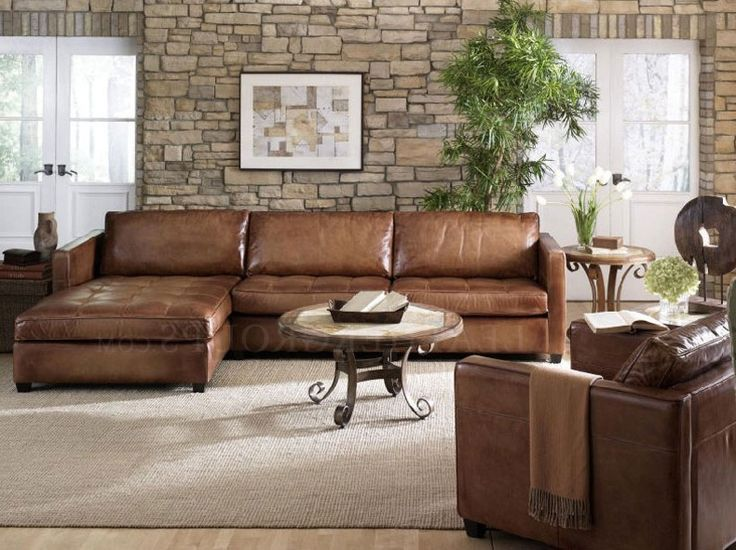 Collection in Small Leather Sectional Sofas | Living Room