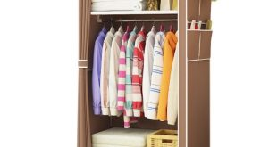 Fashion Simple style small wardrobe Clothe storage cabinets Folding