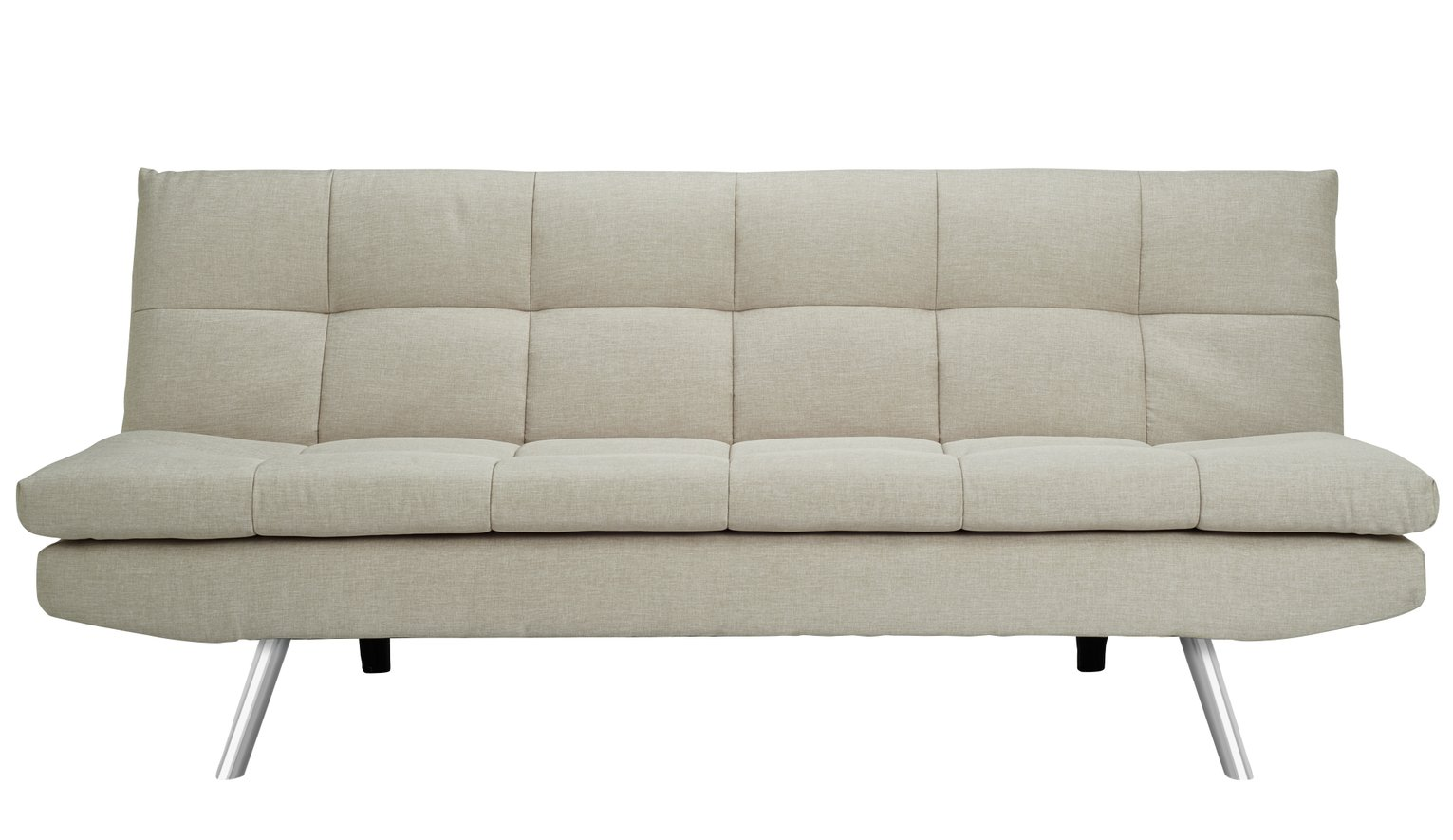Buy Argos Home Nolan 3 Seater Fabric Sofa Bed - Natural | Sofa beds