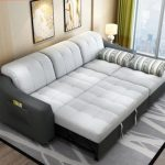 Install sofa bed to give a new look to   your living room