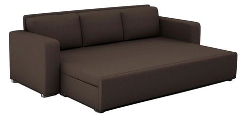 Domino 3 Seater Sofa cum Bed with Storage in Coffee Color at Rs