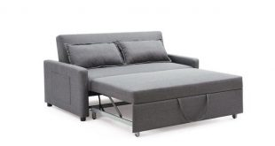 Shop Porch & Den Prado Convertible Sofa with Pullout Bed - Free