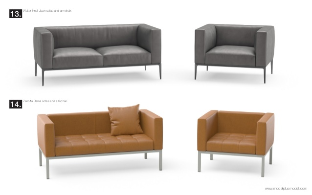 model+model vol.07 Sofas + Armchairs