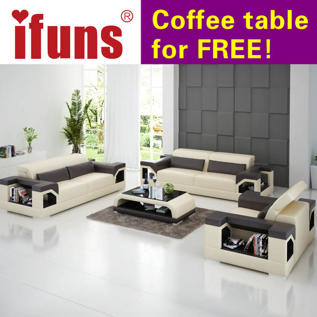 Online Shop IFUNS big size 1-2-3 sectional sofas direct factory