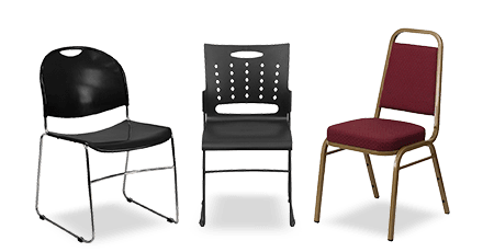 Quality Stack, Church, and Banquet Chairs | StackChairs4Less