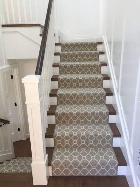 Stanton Wool Stair Runner Newport Beach, CA | Stair Runners