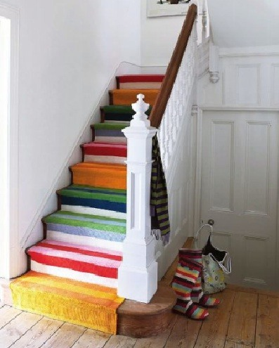 43 Cool Carpet Runners For Stairs To Make Your Life Safer - Shelterness