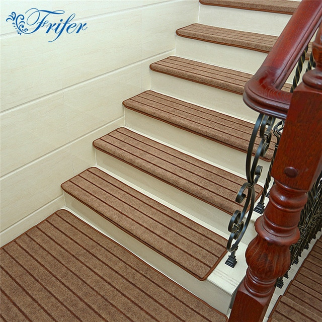 5pcs/set High Quality Stair Carpet Sets Anti slip Stairs Tread