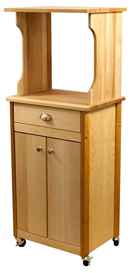 Amazon.com - Catskill Craftsmen Hutch Top Cart with Enclosed Storage