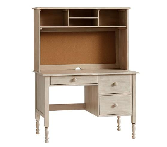 Catalina Storage Desk & Tall Hutch | Pottery Barn Kids