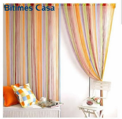 home decoration 300*300CM colorful string curtain line curtain multi