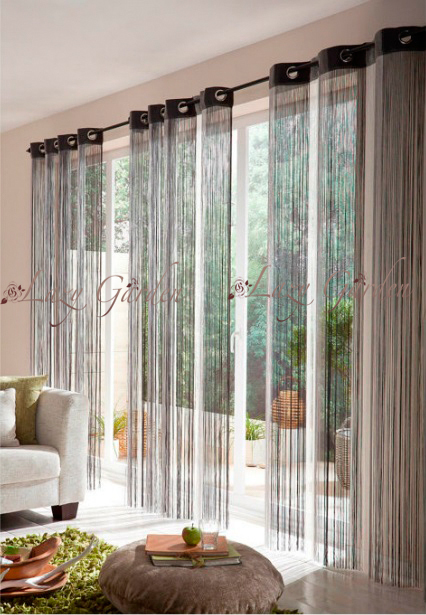 Free Shipping multi color, door/window panels, string curtains, room