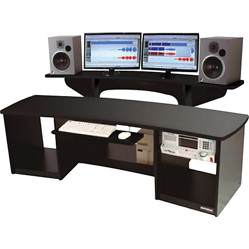 Omnirax Force 24 Studio Desk Black | Musician's Friend