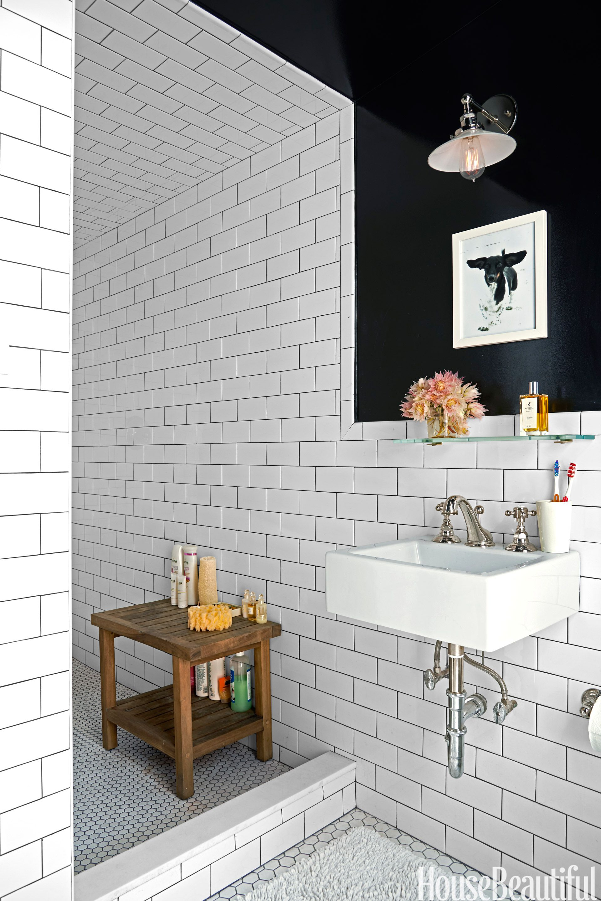 10 Best Subway Tile Bathroom Designs in 2018 - Subway Tile Ideas For
