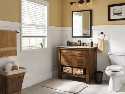 Bathroom Tile and Trends at Lowe's
