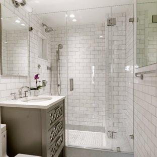 The subway tile bathroom – a classic   style bathroom!