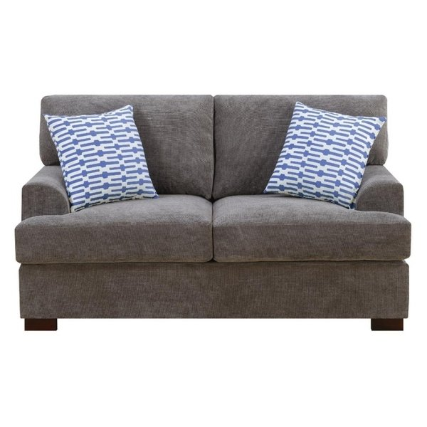 Shop Jamison Waffle Suede Loveseat - Free Shipping Today - Overstock
