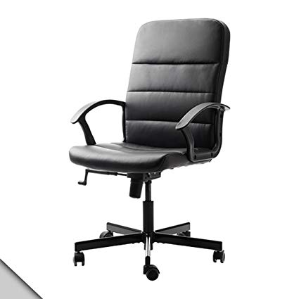 Amazon.com: IKEA - TORKEL Swivel office chair, black: Kitchen & Dining
