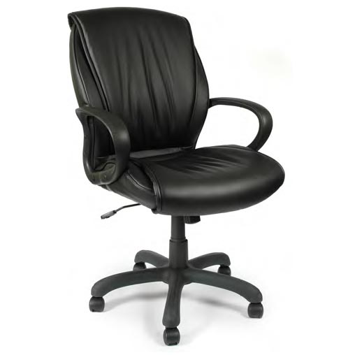 Ndi Office Furniture Executive Mid-Back Swivel Office Chair With