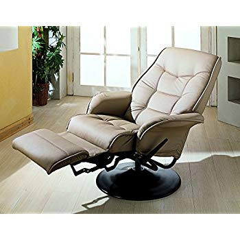 Amazon.com: Berri Swivel Recliner with Flared Arms Beige: Kitchen