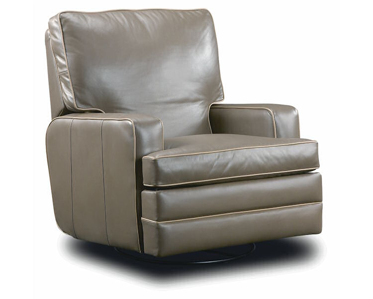Leathercraft Hale Swivel Recliner 2947SR - Leather Furniture USA