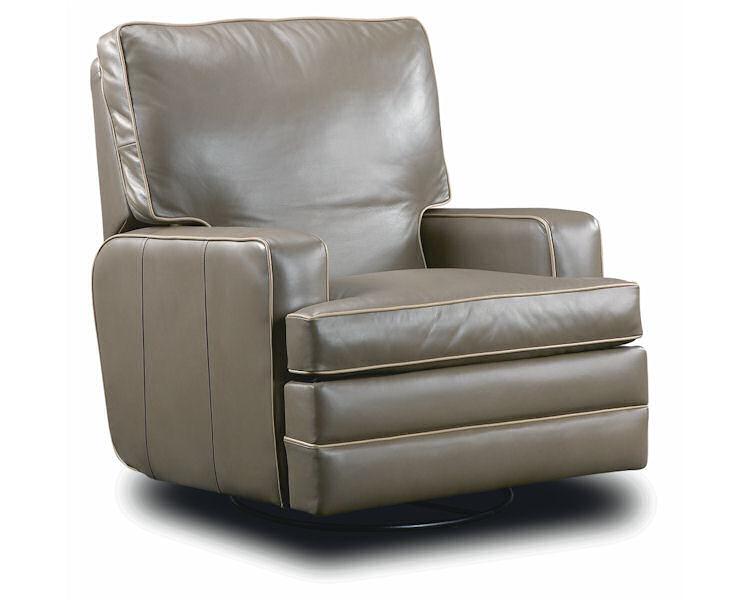 Leathercraft Hale Swivel Recliner 2947SR - Leather Furniture USA