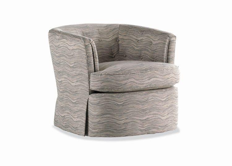 Jessica Charles Living Room Mitchell Swivel Rocker Chair 186-SR
