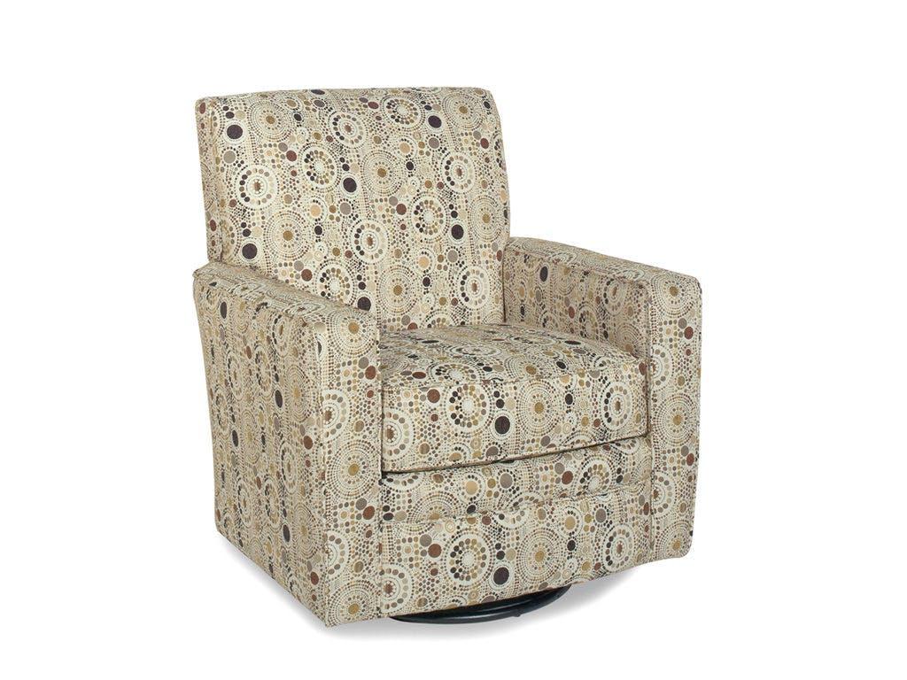 Craftmaster Living Room Swivel Glider Chair 004910SG - CraftMaster