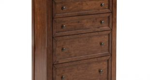 Intercon San Mateo Transitional Chest of Drawers with Cedar Bottom