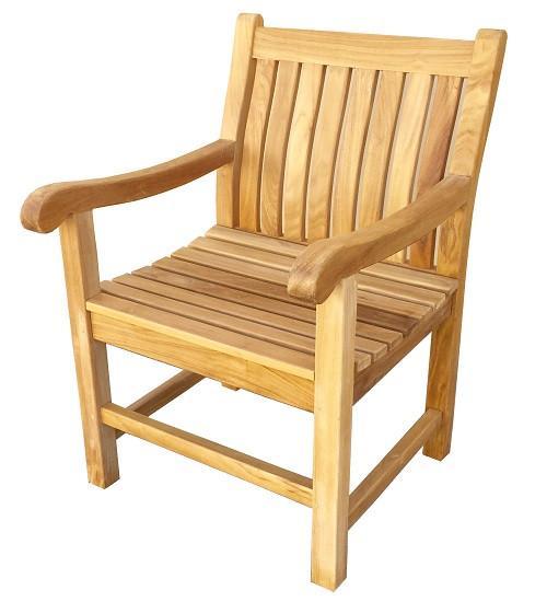 Classic Teak Arm Chair