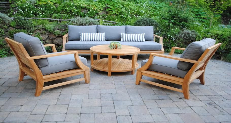 Teak Outdoor Patio Furniture - Paradise Teak | Backyard in 2019