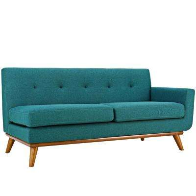 Furnishing your home using teal loveseats