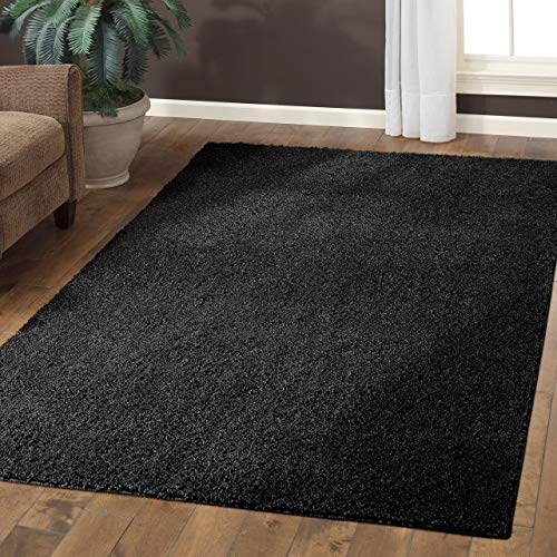 Black Throw Rugs: Amazon.com