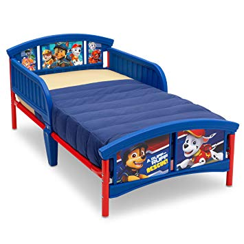 Amazon.com : Delta Children Plastic Toddler Bed, Nick Jr. PAW Patrol