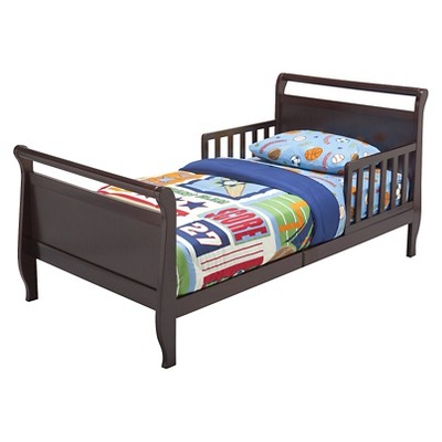 Sleigh Toddler Bed Black Cherry - Delta Children : Target