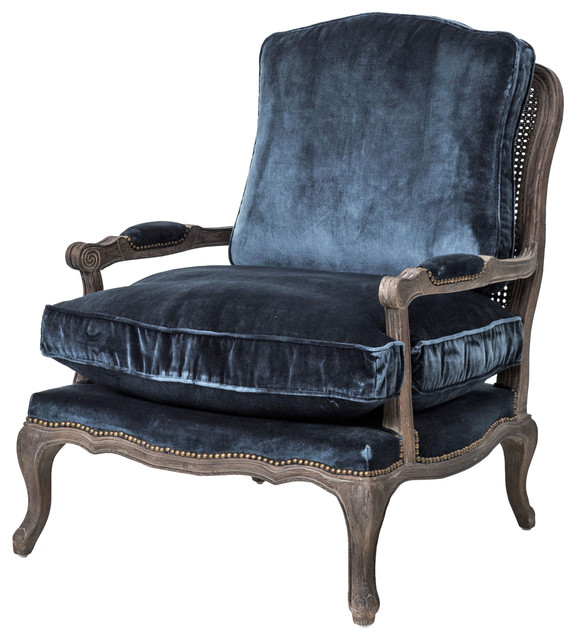 Irondale Boutique Accent Chair - Traditional - Armchairs And Accent