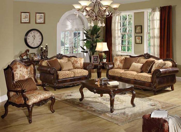 Acerito Traditional Sofa AC-55 | Traditional Sofas