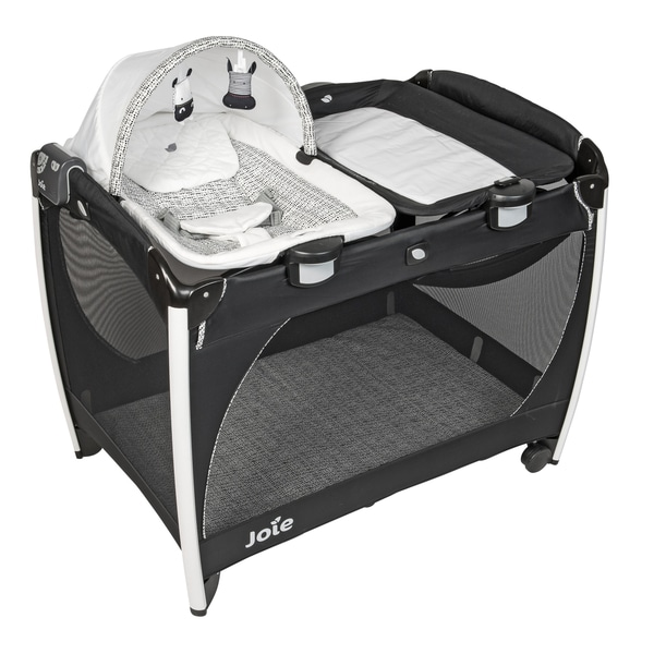 Joie Excursion Change & Rock Travel Cot - Travel Cots UK