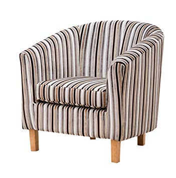 Sofa Collection Fabric Tub Chair/Armchair Seating Brown Available