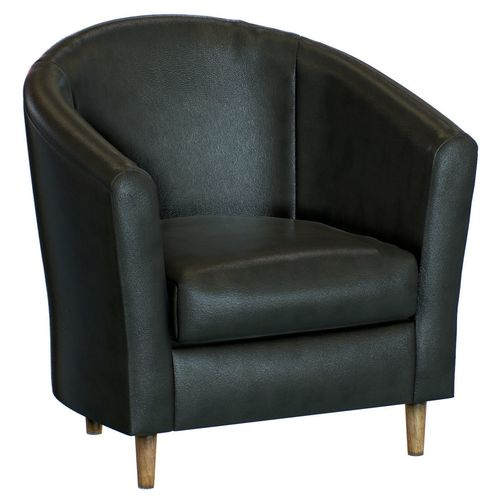 Tub Armchair Leather 3D model | CGTrader