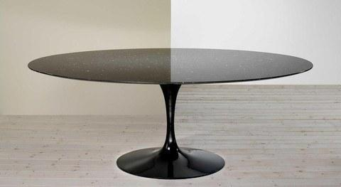 Saarinen Tulip Table - Oval Dining 54
