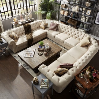 Buy U-Shape Sectional Sofas Online at Overstock | Our Best Living