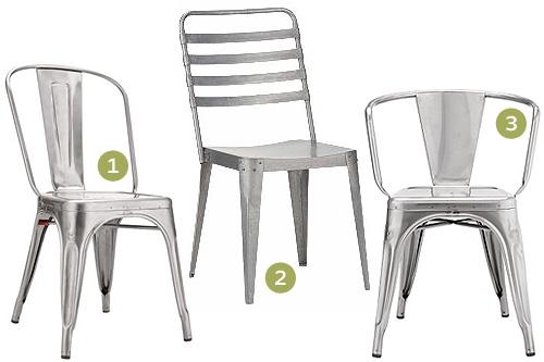 Unique Restaurant Chairs Metal With Marais A Chair Metropolitan
