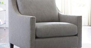 Pasadena Upholstered Armchair | Pottery Barn
