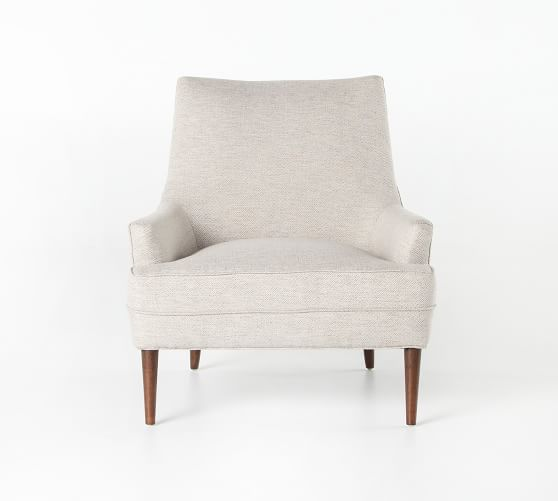 Reyes Upholstered Armchair | Pottery Barn