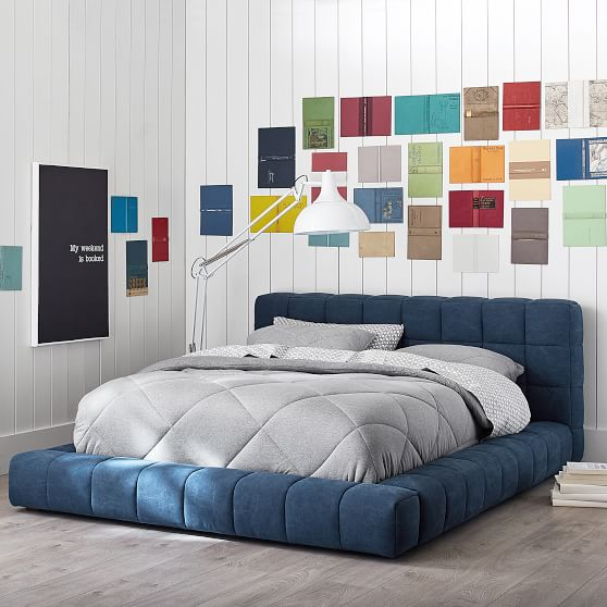 Baldwin Upholstered Bed | PBteen