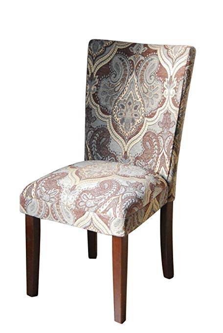 Amazon.com - Paisley Fabric Dining Room Chairs Add Style to Your